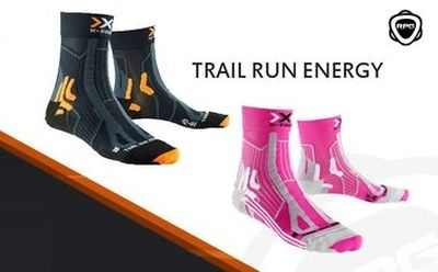 X-SOCKS Trail Run Energy | Running Planet Genève