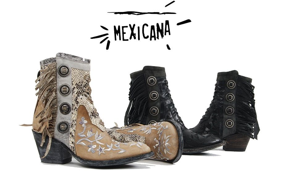 Mexicana : les santiags Rock'n'Roll & Girly